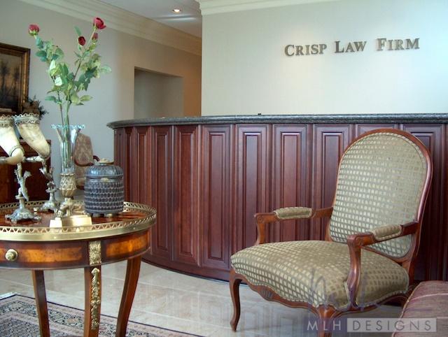 Crisp Law Firm Portfolio Mlh Designs Meridith Hamilton Interior Designs Little Rock Arkansas